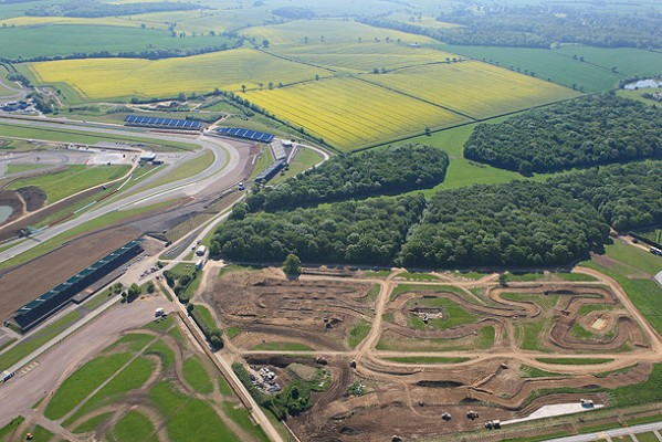 Silverstone Motocross Track photo